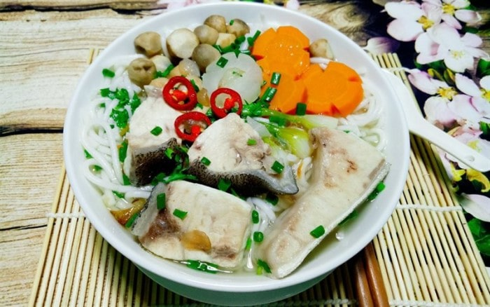 Bánh canh cá bớp
