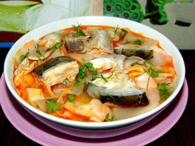 Cá bóp nấu xoài Phú Quốc