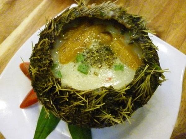 Cháo nhum biển Phú Quốc