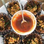Nhum biển Phú Quốc - món ăn lạ mà ngon