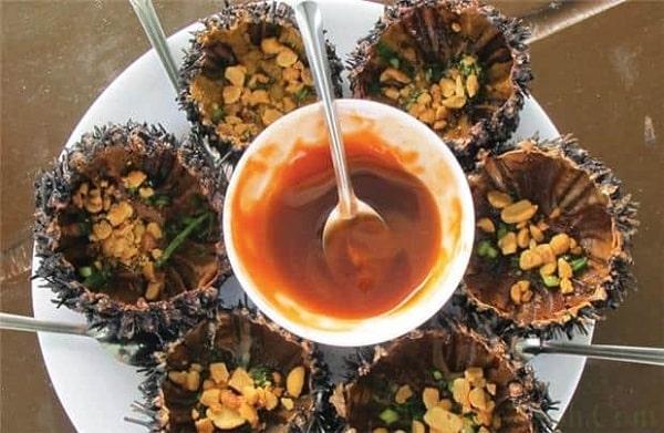 Nhum nướng mỡ hành Phú Quốc