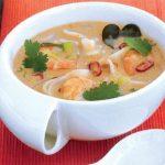 Món khai vị súp mực hấp dẫn ở Phú Quốc