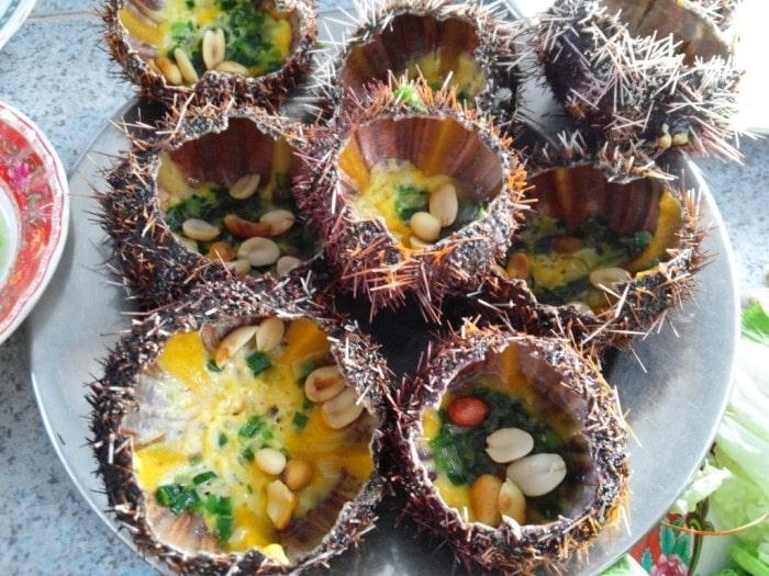 Nhum biển nướng dành cho người không ăn được đồ sống