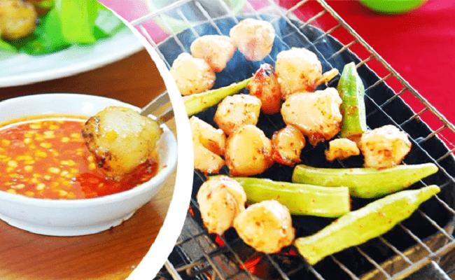 Thưởng thức món Còi Biên Mai Nướng – Đặc sản Phú Quốc