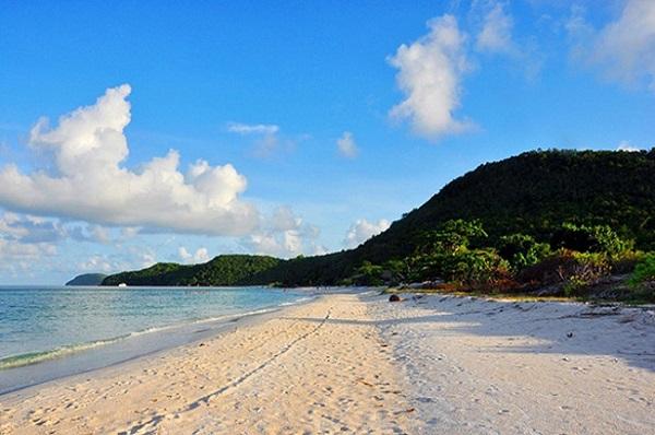 Vẻ đẹp Bãi Sao Phú quốc lúc bình minh