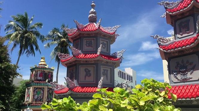 Ngôi chùa Sùng Hưng Cổ Tự là ngôi chùa cổ nhất tại Phú Quốc