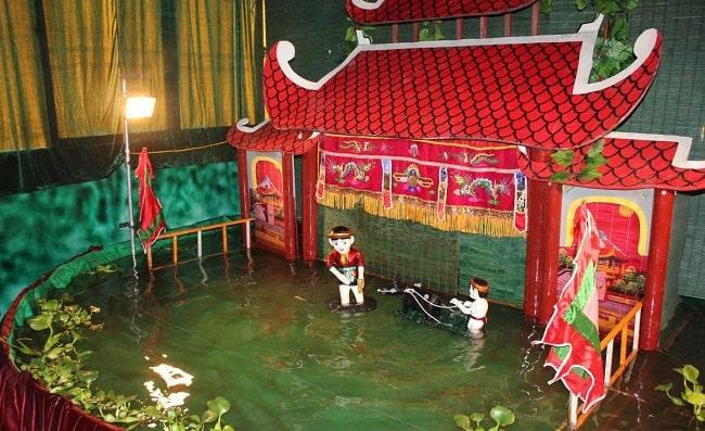 Nhà hát múa rối nước Đảo Ngọc ở Phú Quốc