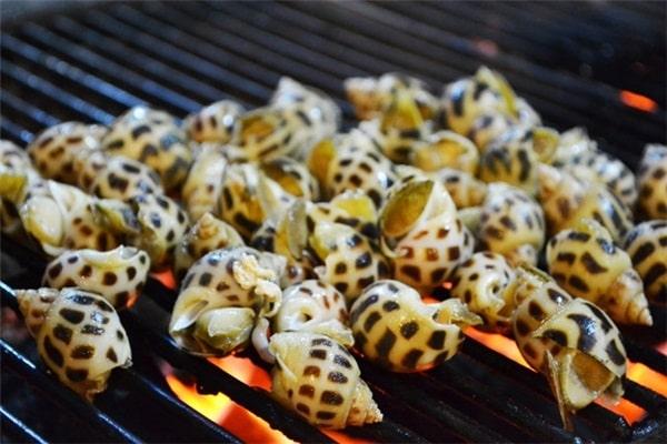 Ốc hương Phú Quốc nướng
