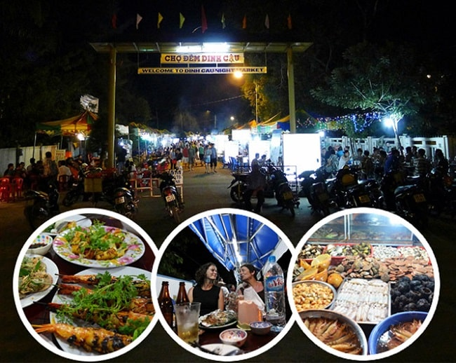 Dinh Cậu là chợ đêm nổi tiếng nhất ở Phú Quốc