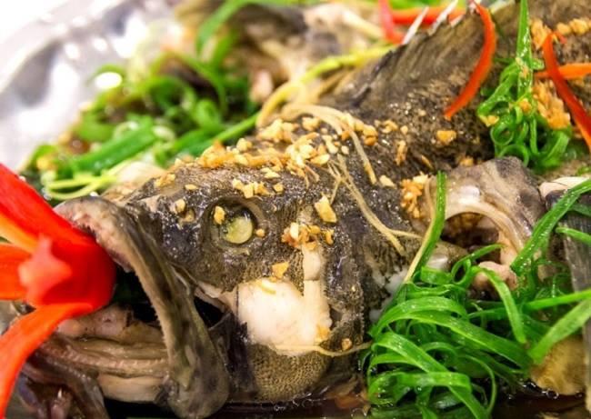 Cá bống mú hấp gừng là món ăn siêu hấp dẫn mà lại đơn giản có thể chế biến tại nhà
