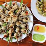 Món ăn chế biến từ ốc gai