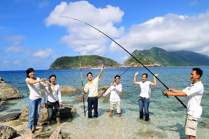 Câu cá ở Phú Quốc