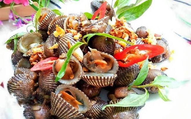 Các món ngon từ Sò huyết Phú Quốc