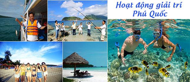 Hoạt động du lịch Phú Quốc