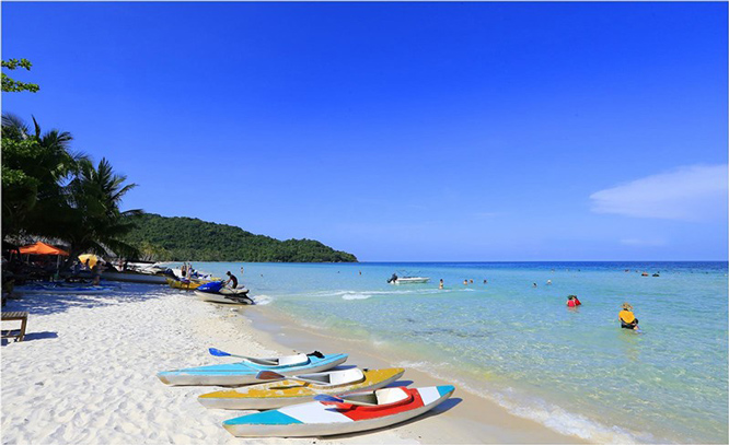 Bãi sao Phú Quốc - điểm hẹn du lịch lý tưởng cho mùa hè tươi mát.