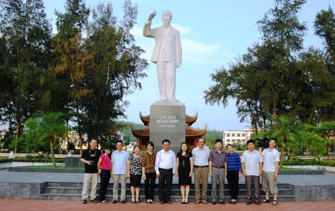 Nhà lưu niệm Bác Hồ Cô Tô