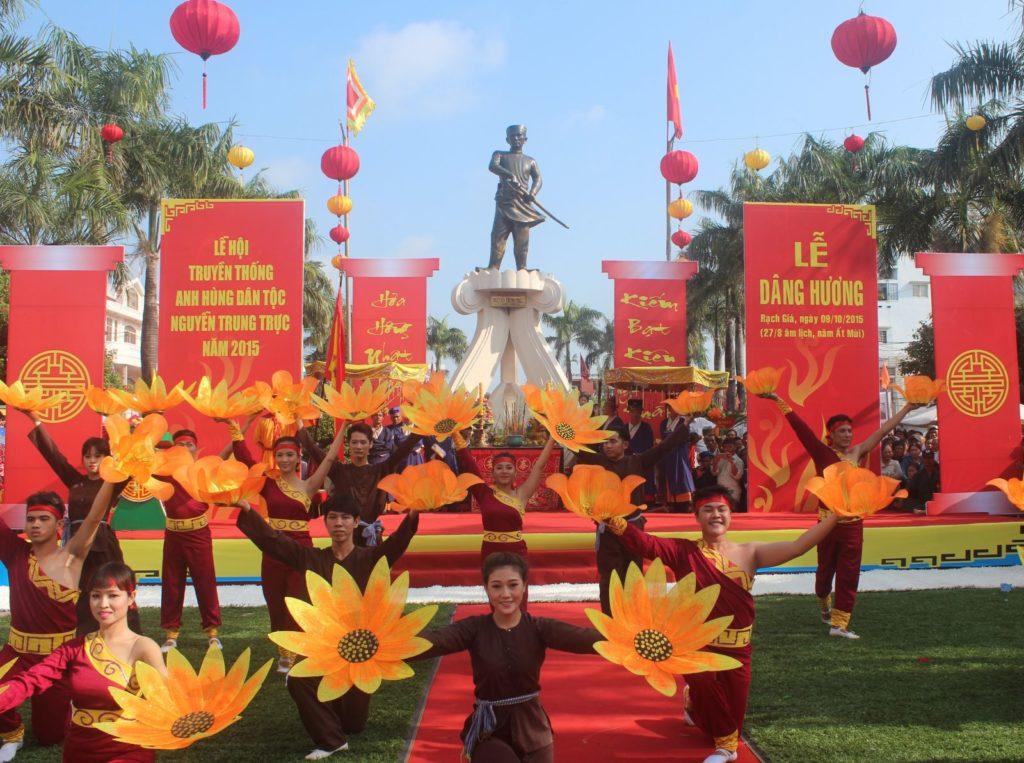 Hoạt động trong lễ hội Nguyễn Trung Trực