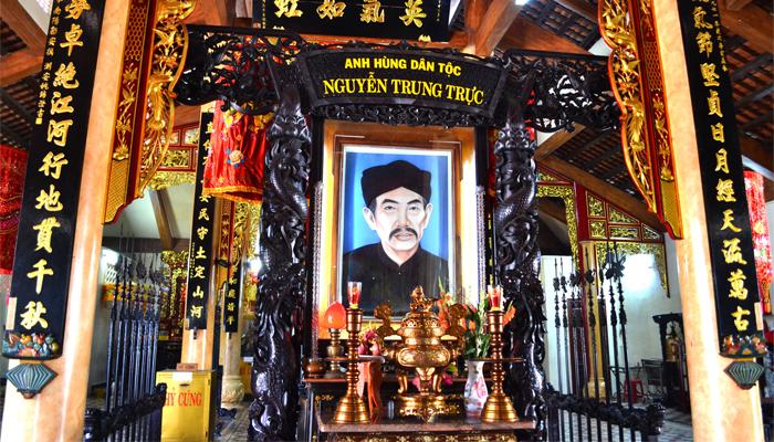 Đền thờ vị anh hùng dân tộc Nguyễn Trung Trực