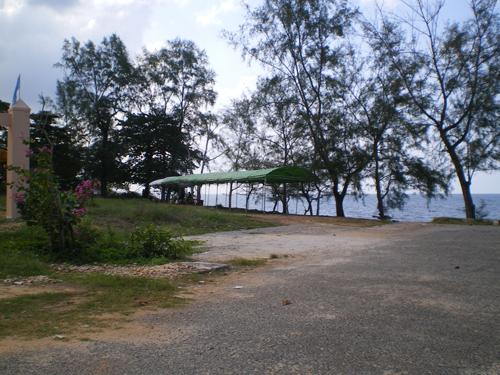 Cảnh thiên nhiên nhìn từ Dinh Bà Ông Lang