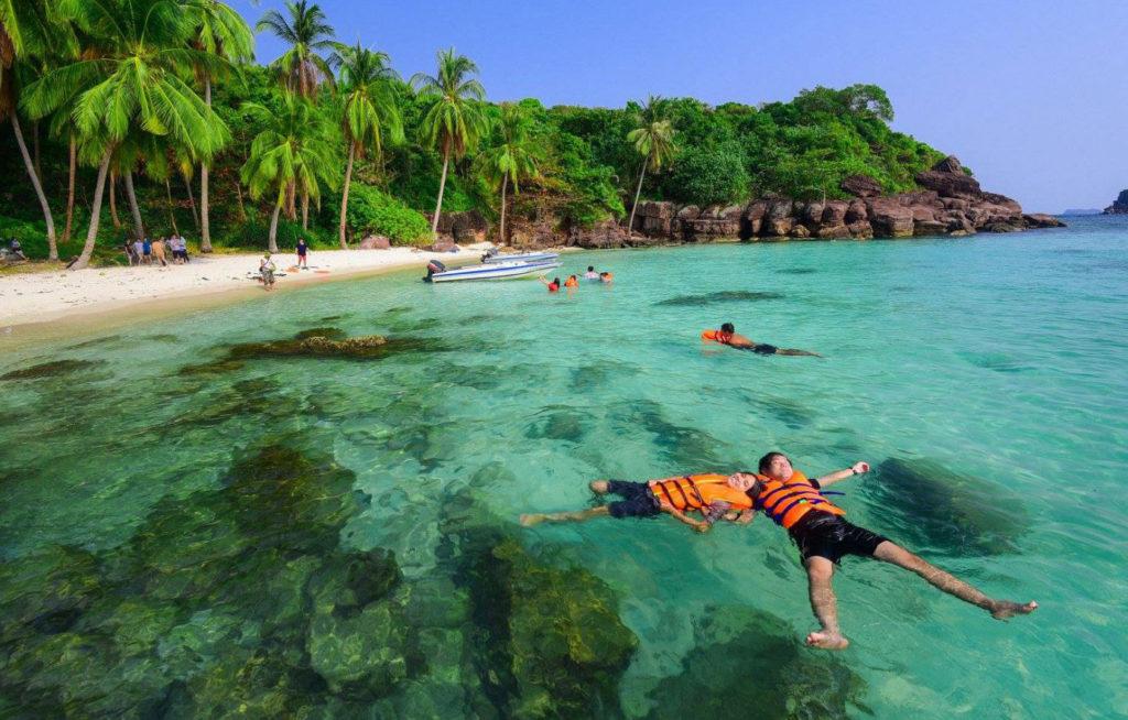 Hòn Móng Tay - Quần đảo An Thới