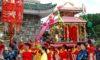 Lễ rước trong lễ hội Dinh Bà Ông Lang
