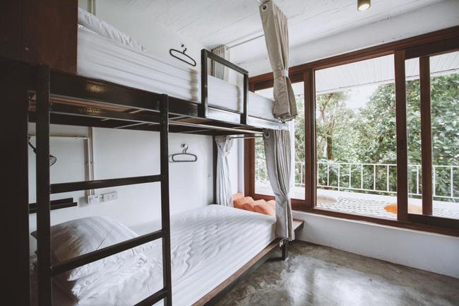 Phòng ngủ tại 88 Hilltop Hostel