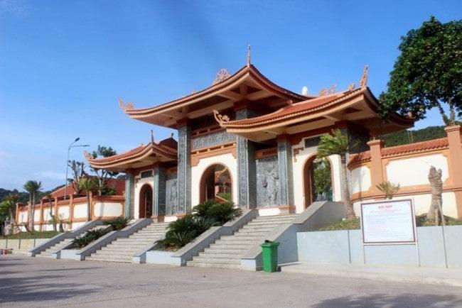 Thiền viện Trúc Lâm Hộ Quốc thuộc khu du lịch tâm linh của Phú Quốc