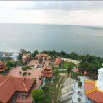 Thiền viện nhìn từ trên cao