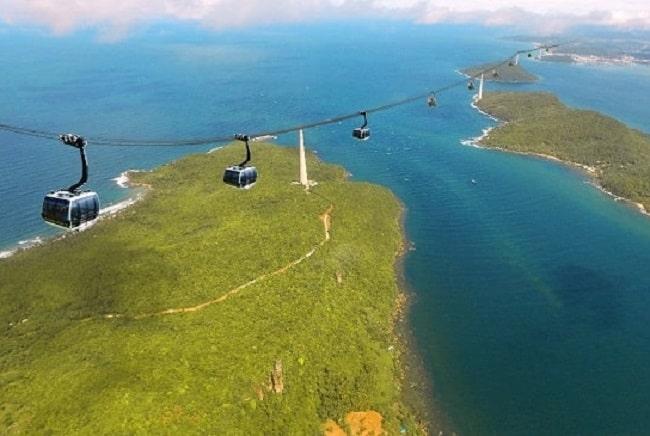 Cáp treo Hòn Thơm là cáp treo dài nhất thế giới.