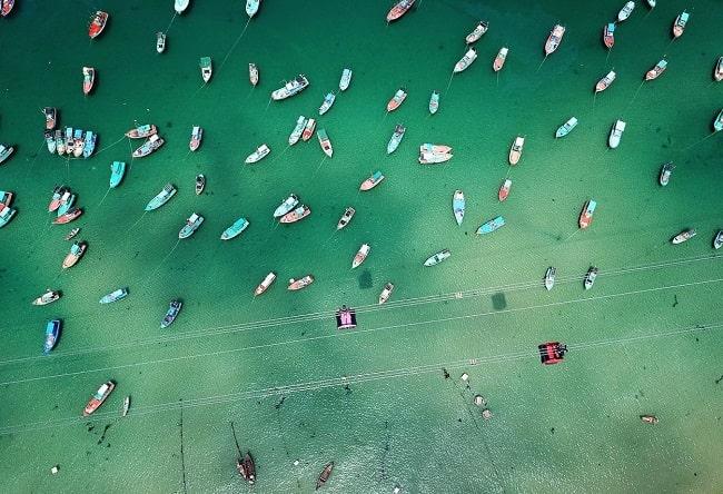 Ngắm nhìn thế giới biển cả từ độ cao trên cáp treo Hòn Thơm