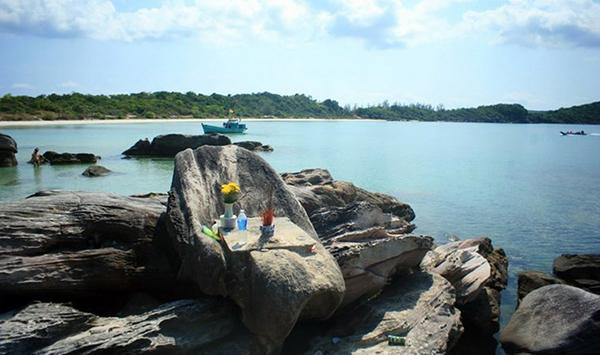 Ngai vua hướng ra biển Phú Quốc