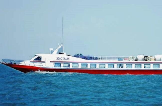 Tàu cao tốc Ngọc Thành – Phú Quốc một tầng