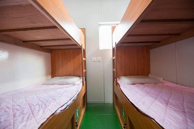 Giường nằm thoải mái tàu cao tốc Ngọc Thành – Phú Quốc