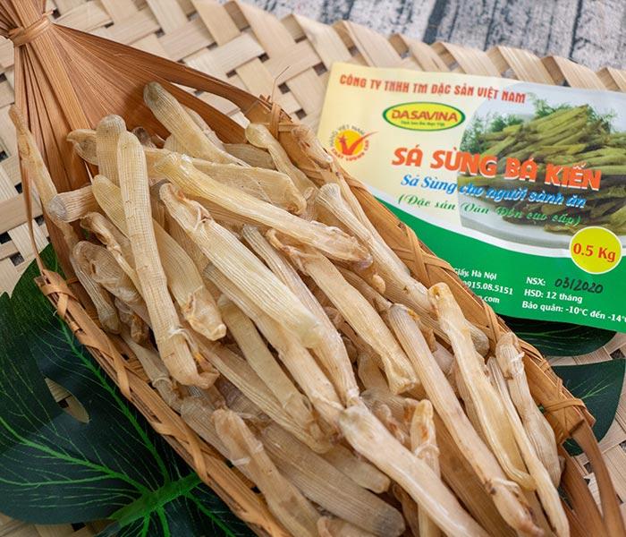Sá sùng là một loại gia vị mang vị ngọt tự nhiên trong nấu ăn